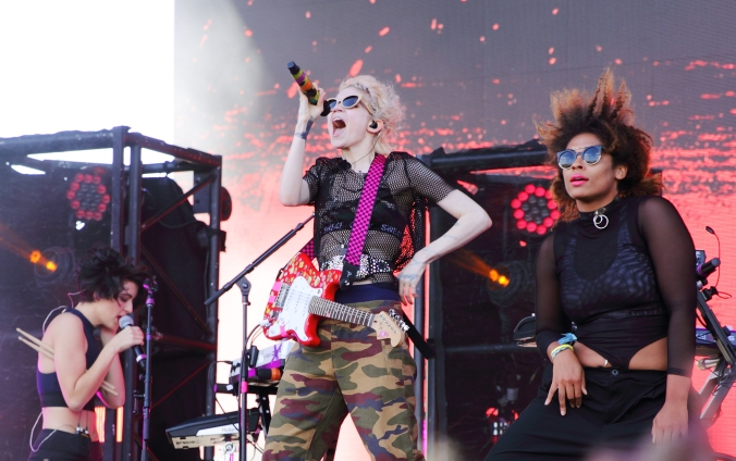 Grimes at Bestival 2016 in Toronto