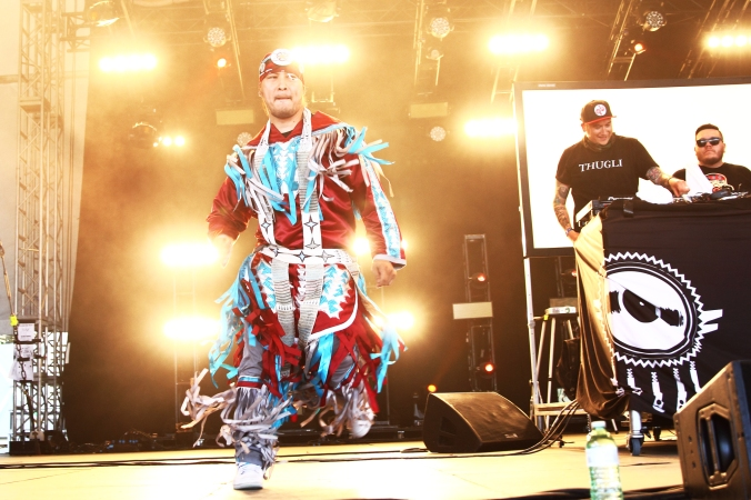 A Tribe Called Red at Wayhome 2016 in Oro-Medonte