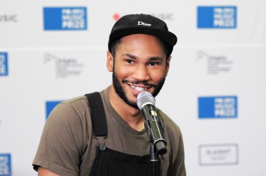 Kaytranada winning Polaris Prize